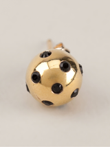 14k gold ladybug earrings