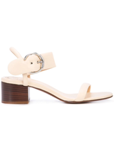 Roy buckle block heel sandal
