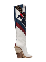Fendi Fila cowboy boot