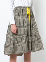 Prince of Wales Tiered Skirt