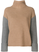 Oversized t-neck sweater