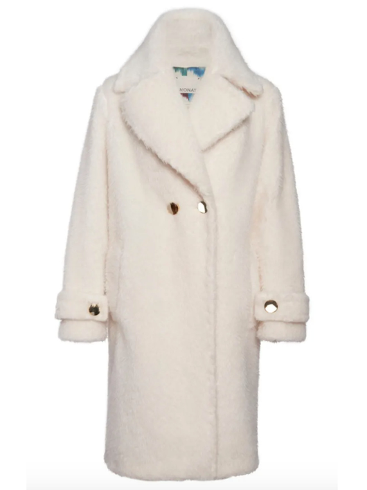 jennifer oversized trench