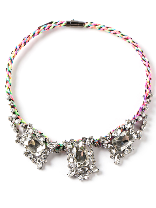 rave on necklace