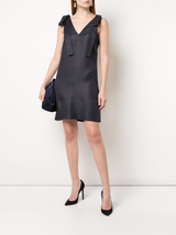Tie Shoulder Dress