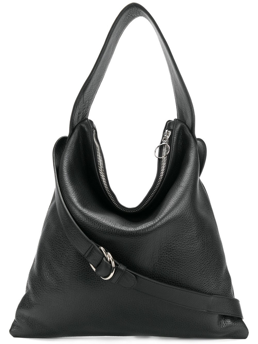 Maj black shoulder bag