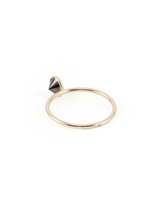 sideways ring 5mm black diamond