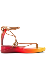 Ombre thong sandal