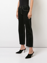 Wendall cropped wide leg jeans
