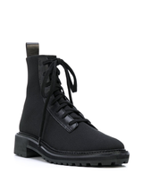 Brady Stretch Knit Combat Boot