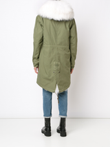 Fox Lined Parka W/Raccoon Hood