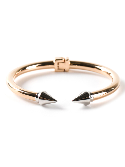 mini titan two-tone bracelet