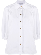 Cotton Poplin Button Down