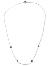 four tiny star necklace