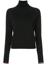 FIne Gauge Silk Cashmere Turtleneck