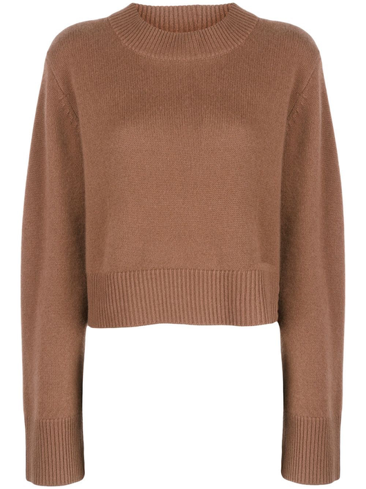 Cashmere knit crew