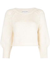 Lena puff crop sweater
