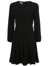 peasant sleeve raglan dress