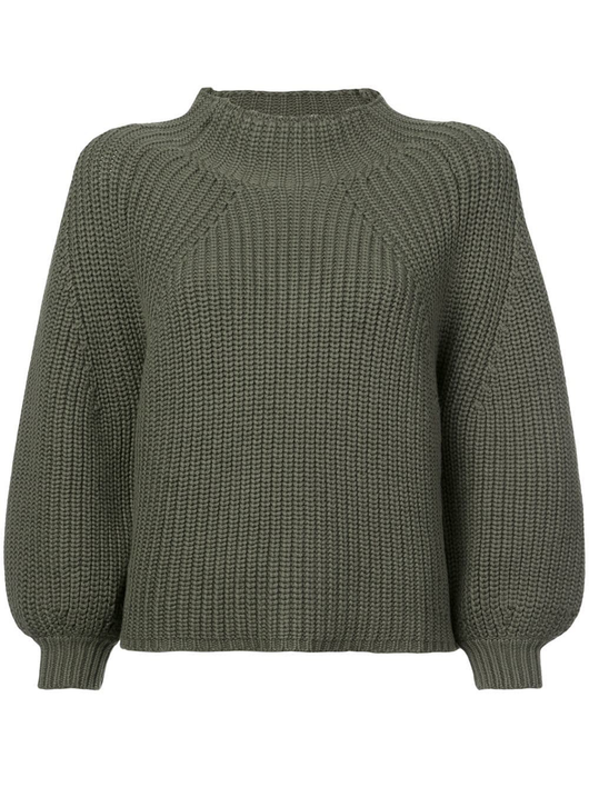 Merel funnel neck crop sweater