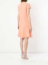 S/s flounce hem dress