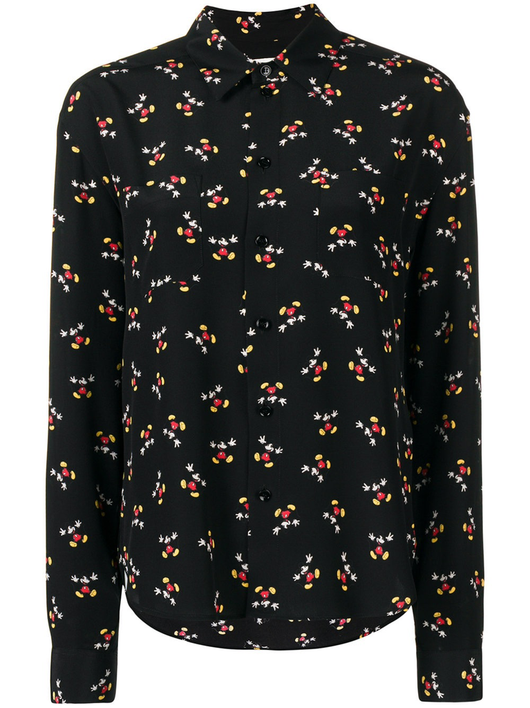 Mickey Button Down