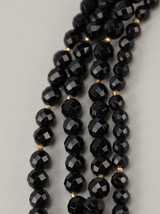 4 strand onyx necklace