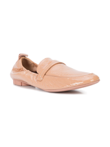 Patent soft loafer