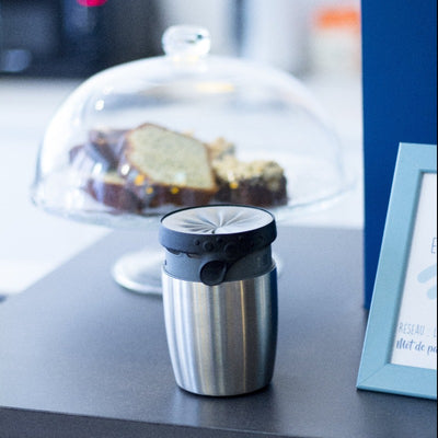 Mug isotherme en Inox Made in France personnalisable entreprises