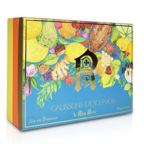 Coffret Prestige 40 calissons d'exception aux fruits