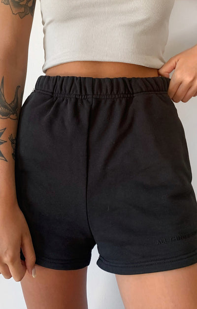 THE A.T.G TRACK SHORT - BLACK