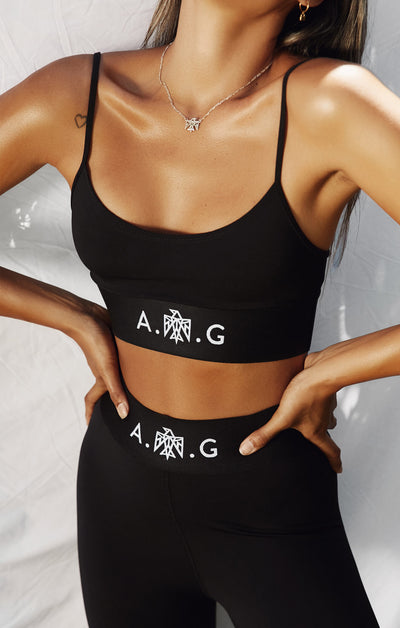 THE A.T.G SKINNY STRAP CROP