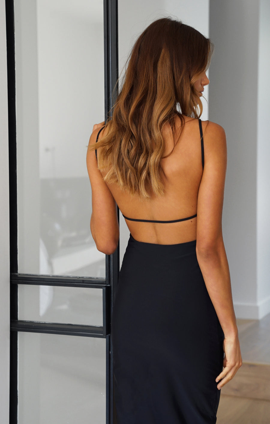 THE DOUBLE STRAP DRESS