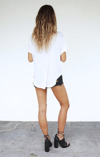 THE BOYFRIEND TEE - WHITE