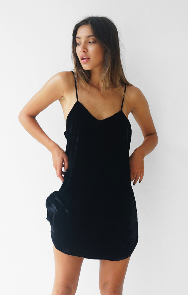 THE VELVET CAMI DRESS