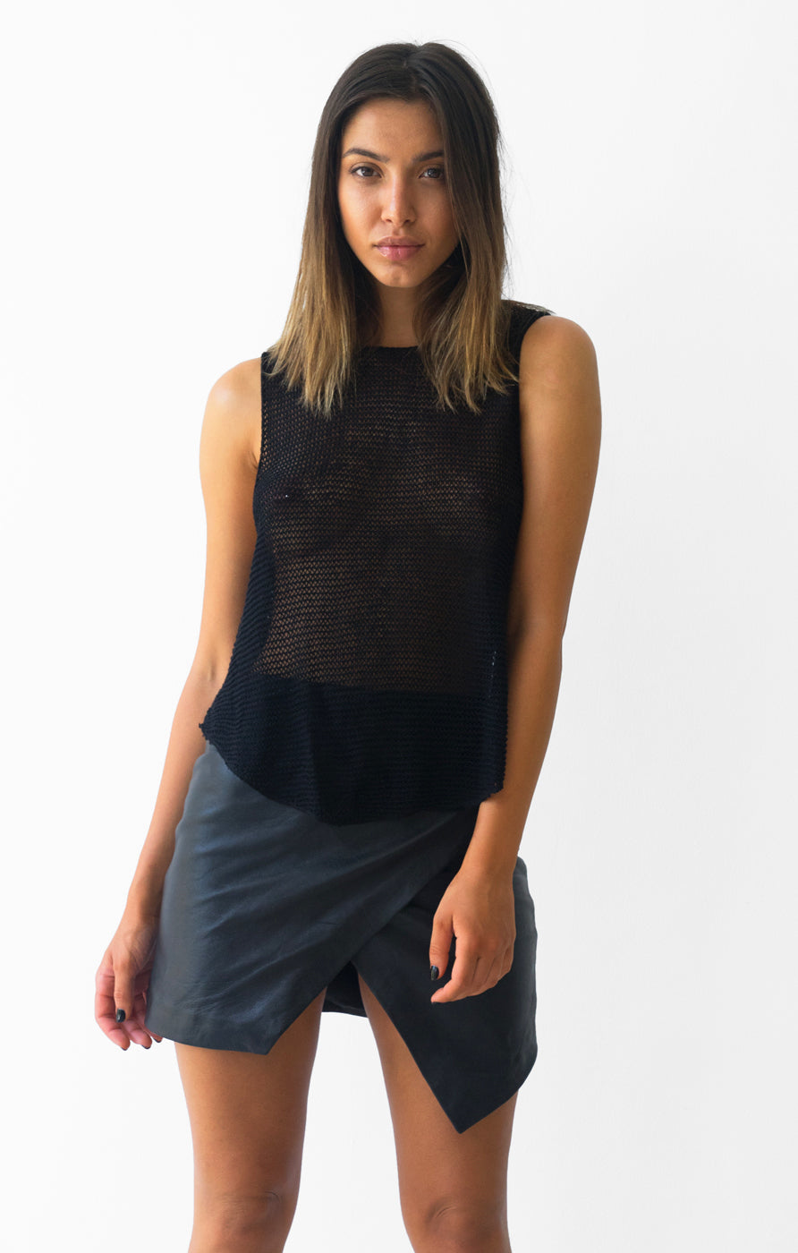 THE LOOSE KNIT TANK