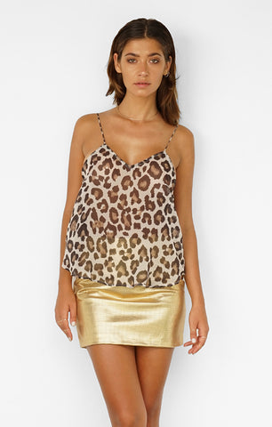 THE VITAL CAMI - LEOPARD