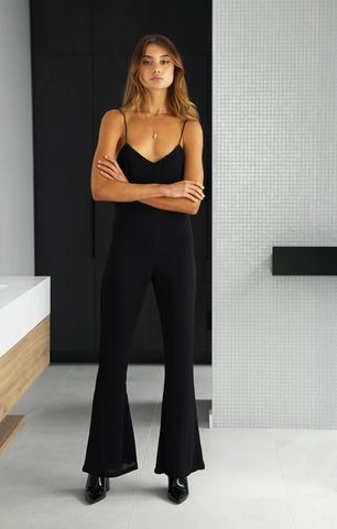 THE CLASSIC JUMPSUIT - BLACK