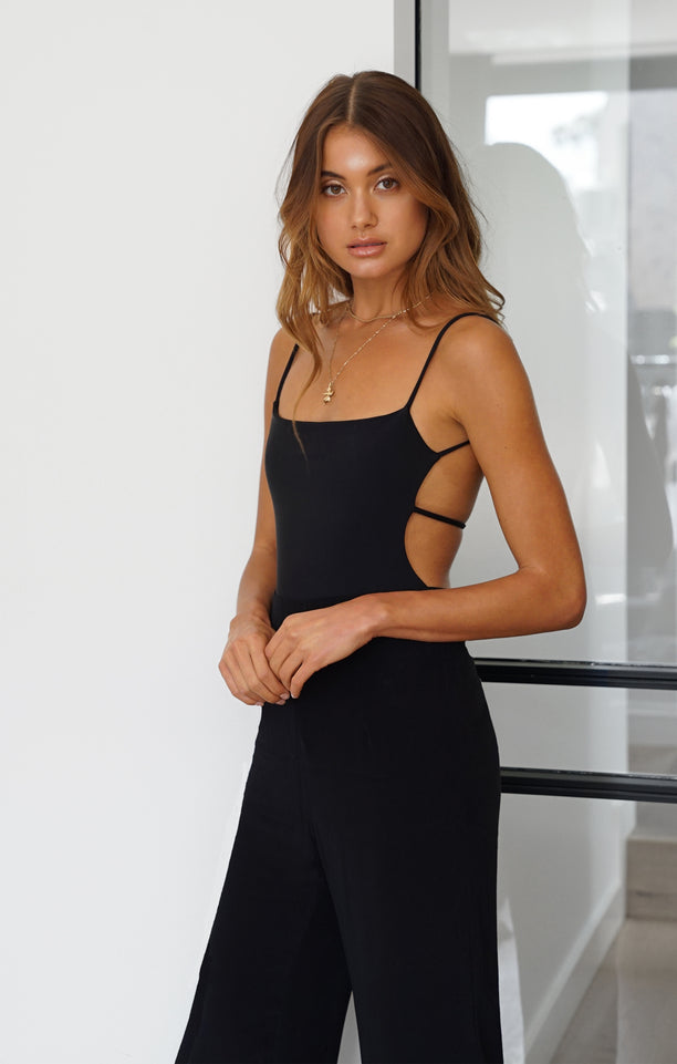 THE DOUBLE STRAP BODYSUIT