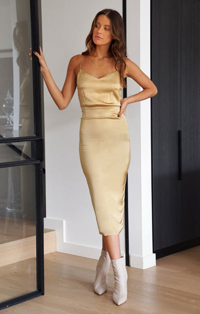 THE CLASSIC DRESS - GOLD