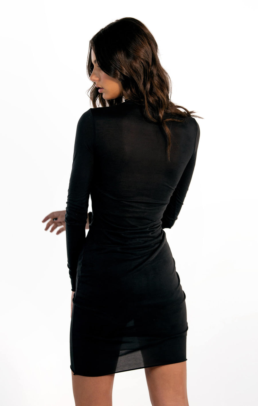 THE MODAL LONG SLEEVE DRESS