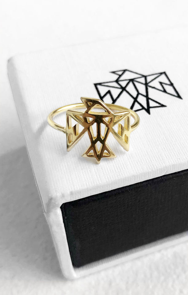 THE SIGNATURE RING - GOLD