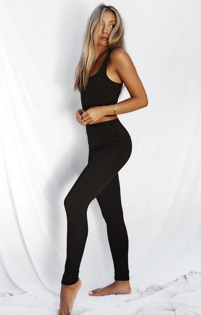 THE EVERYDAY LEGGINGS - BLACK
