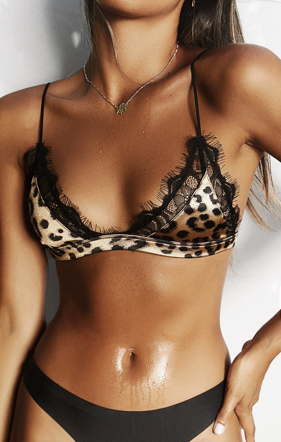 THE LOVER BRALETTE - LEOPARD