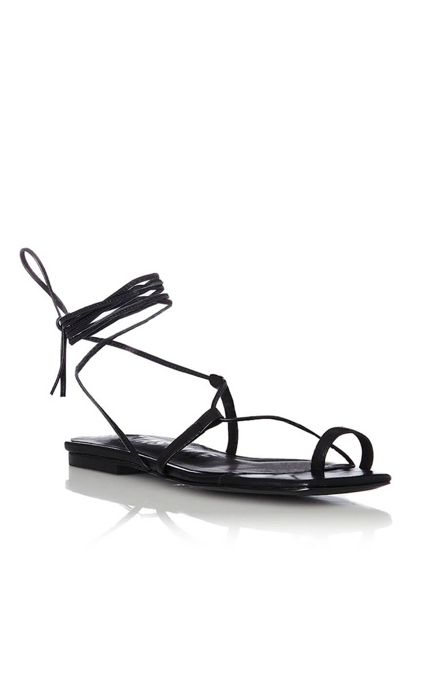 THE ANIKA SANDAL - BLACK
