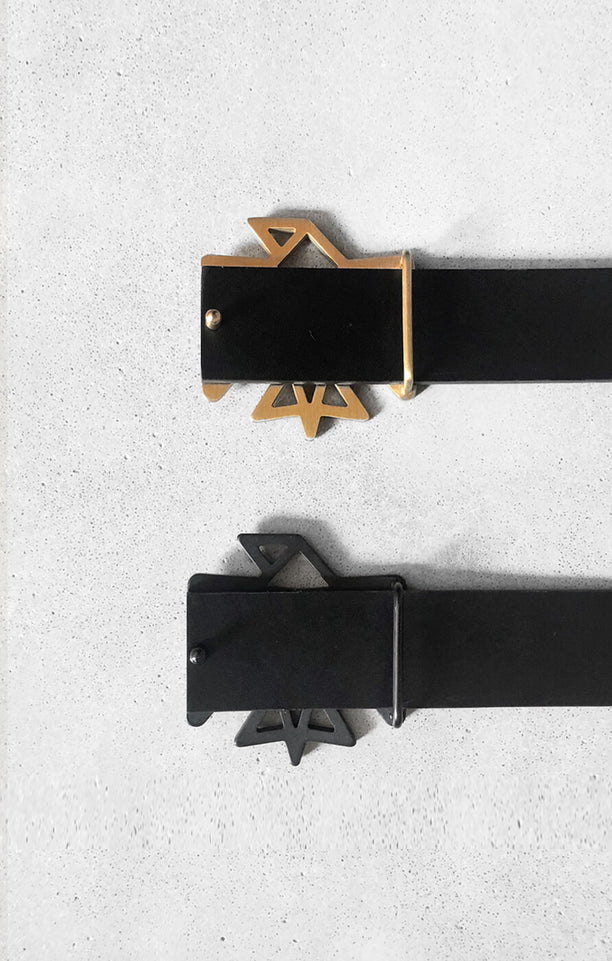 THE SIGNATURE BELT - MATTE BLACK