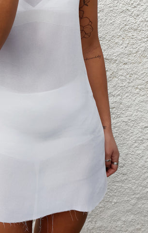 THE GEORGETTE MINI - WHITE