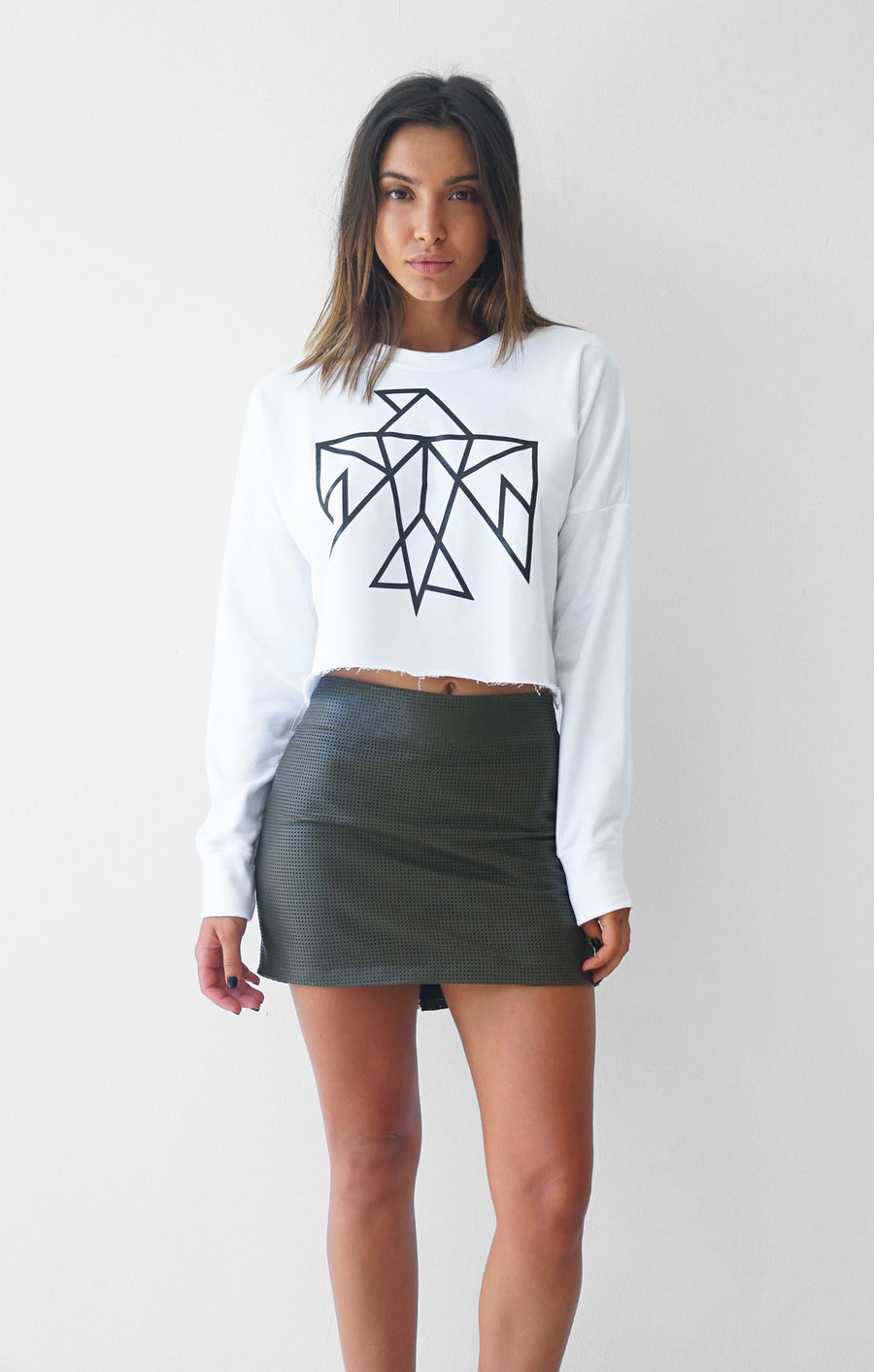 THE SIGNATURE CROP JUMPER