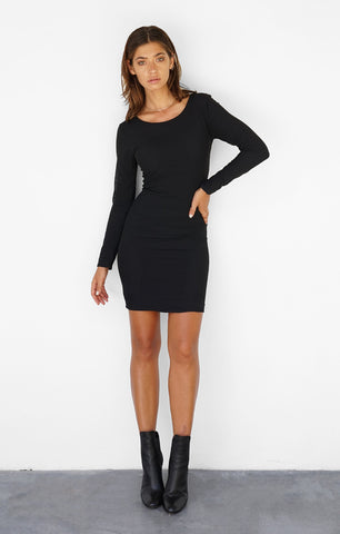 THE MIDNIGHT L/S DRESS