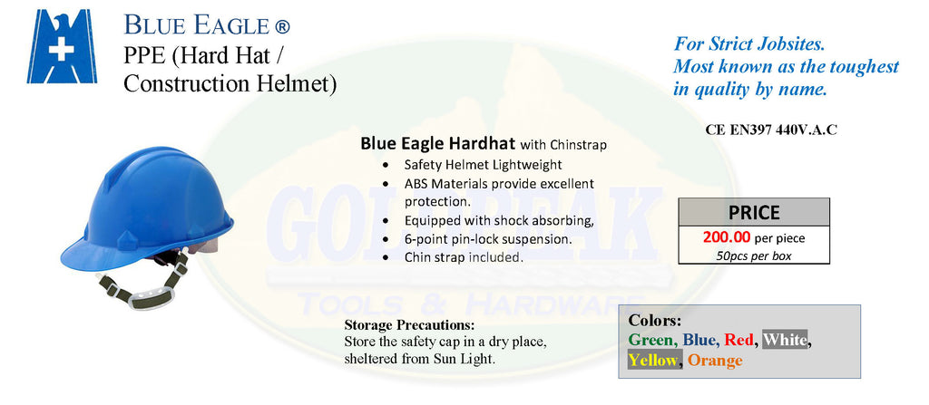 Blue Eagle Helmet