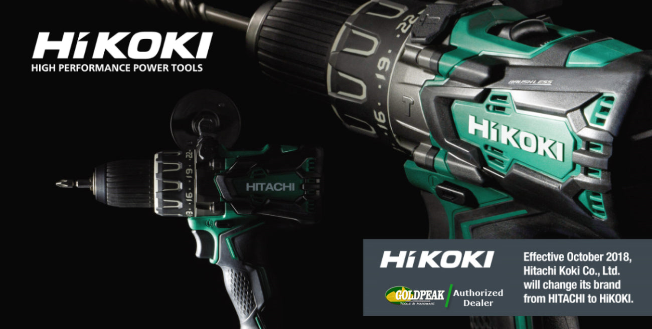 Hitachi Power Tools To Be Renamed As Hikoki In Asia And