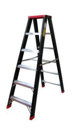 Butterfly A-Type Fiberglass Industrial Ladder - goldpeak-tools-ph